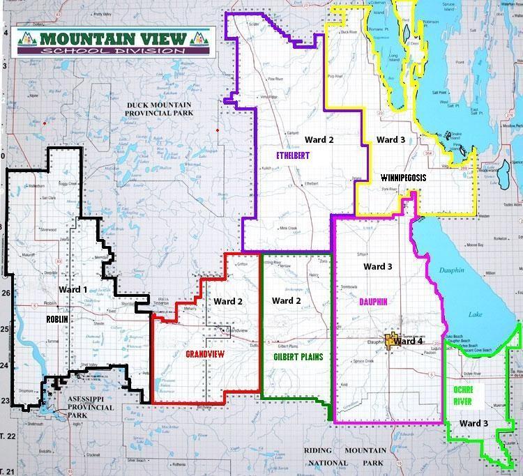 MVSD catchment area map