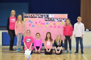 Pink day assembly photo