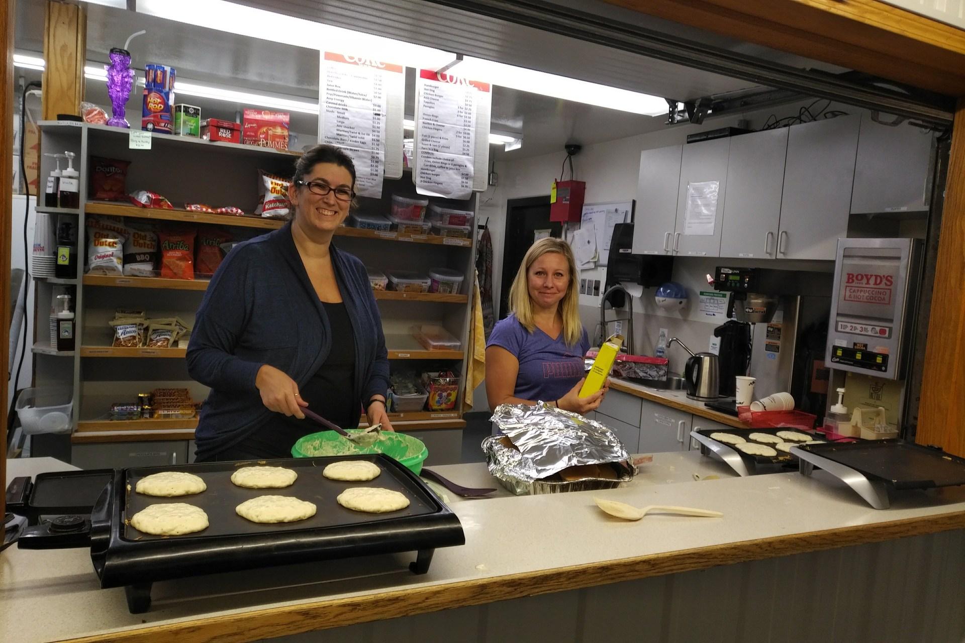Pancake lunch & Skate