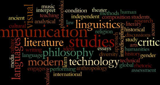 Humanities Wordcloud